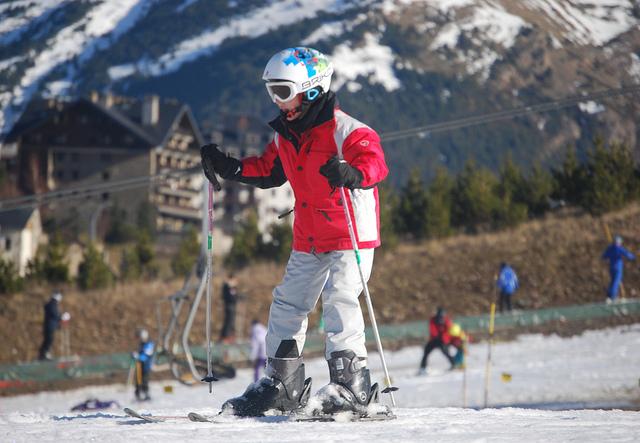 esqui formigal niños