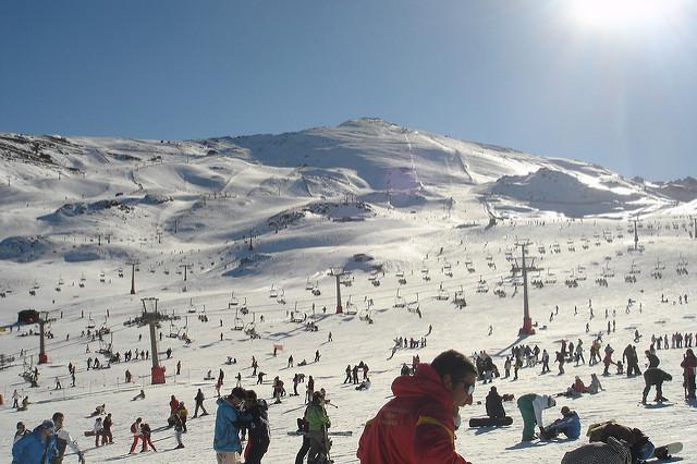 pistas esqui sierra nevada