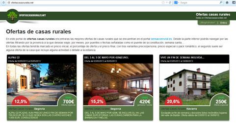 ofertas casas rurales