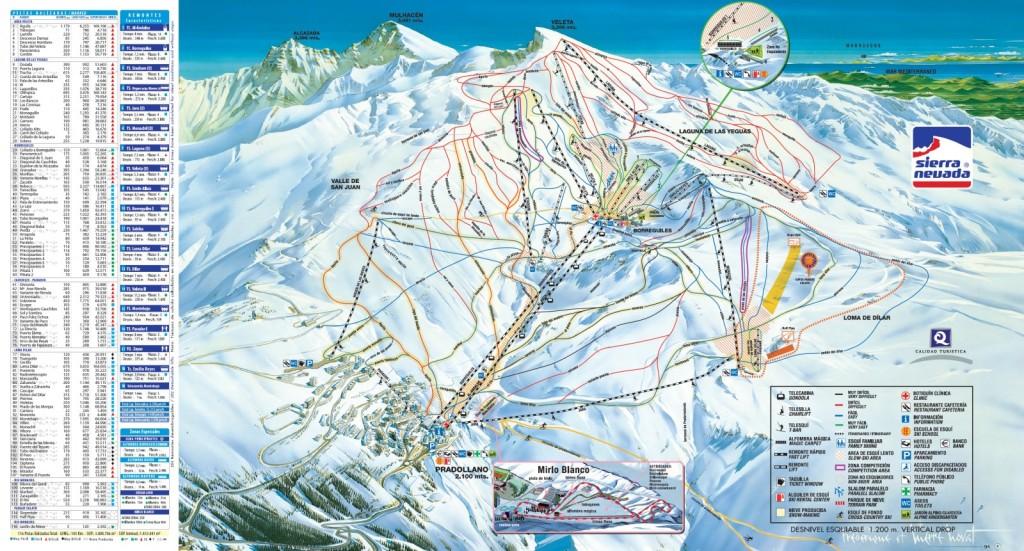 pista esqui sierra nevada