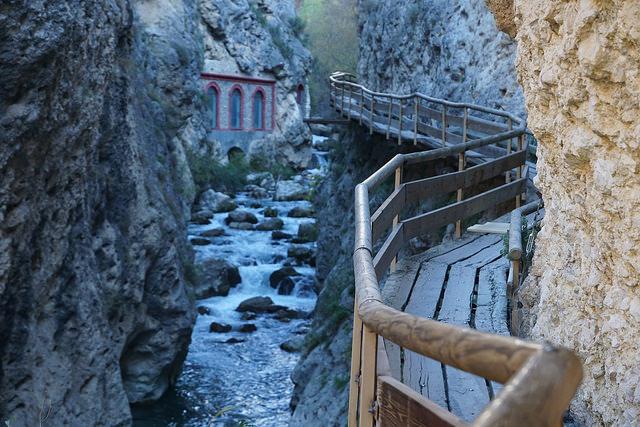 pasarela rio castril