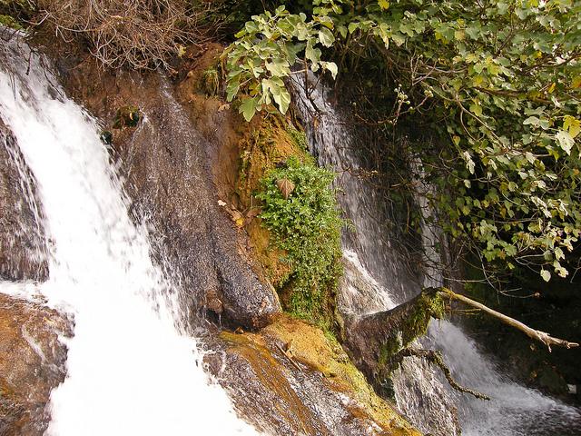 cascadas hueznar