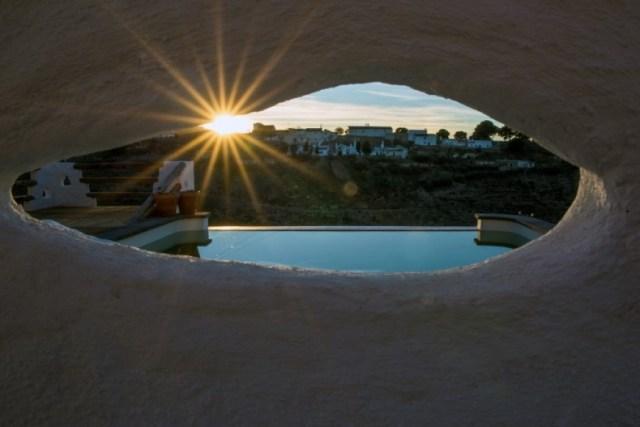 piscina alojamiento rural cueva