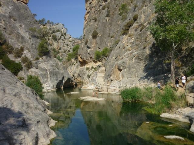 piscina natural fontcalda