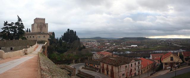 castillo ciudad rodrigo
