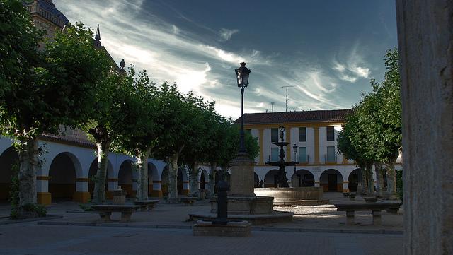 plaza ciudad rodrigo