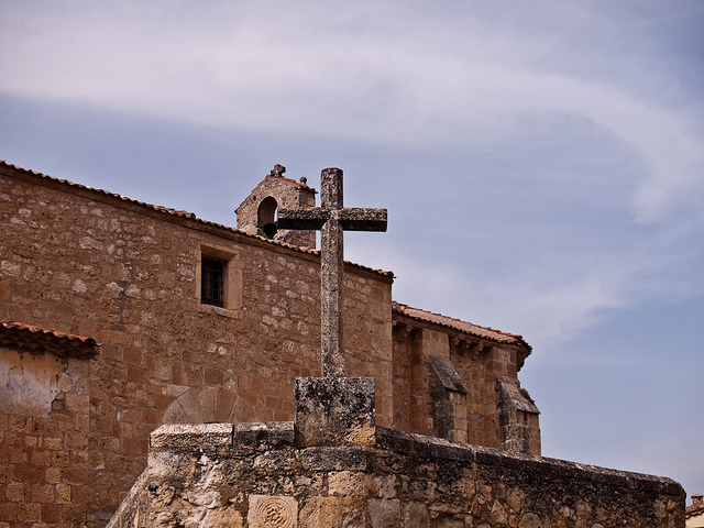 iglesia maderuelo