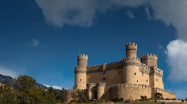 manzanares real castillo