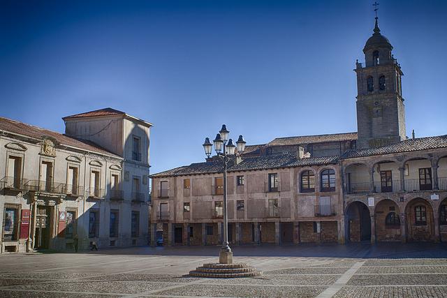 plaza mayor medinaceli