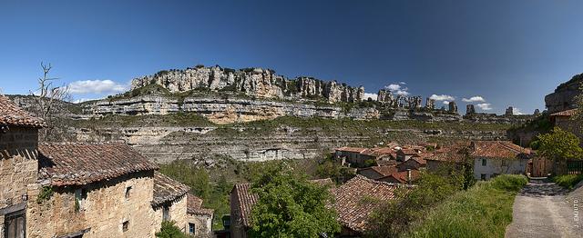 vistas orbaneja del castillo