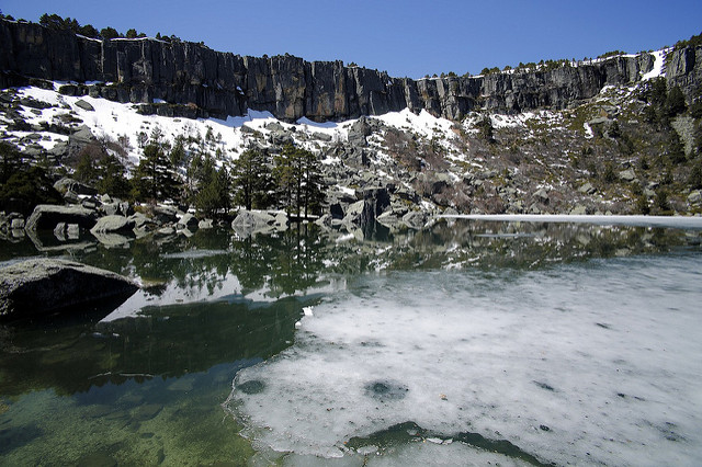 laguna negra hielo