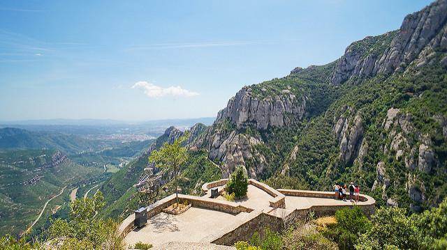 vistas monasterio montserrat