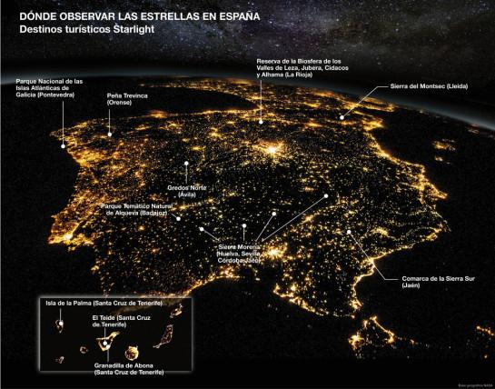 destinos astroturismo españa