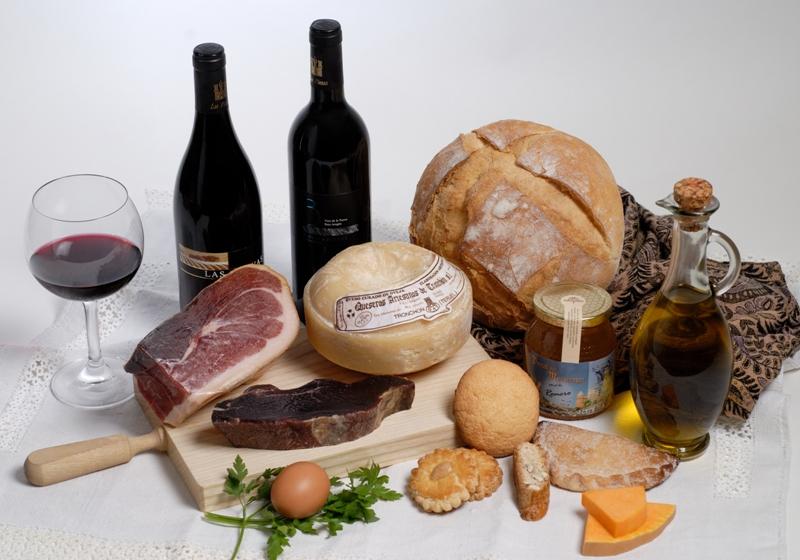 gastronomia productos maestrazgo