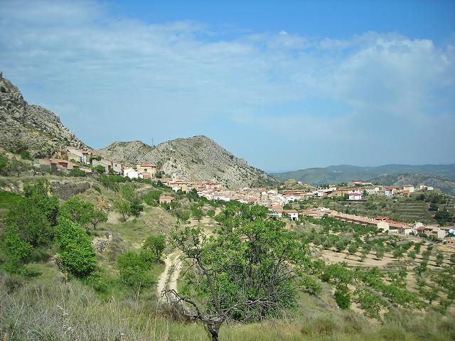 castellote pueblo