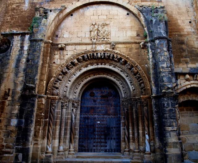 uncastillo iglesia
