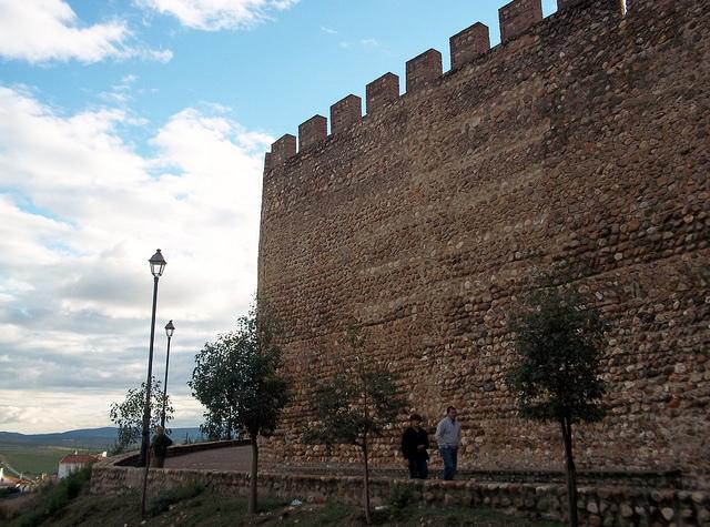 muralla galisteo