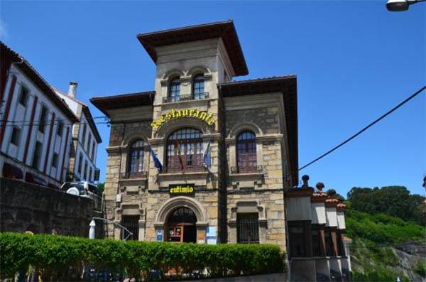Casa Eutimio, en Lastres, Asturias