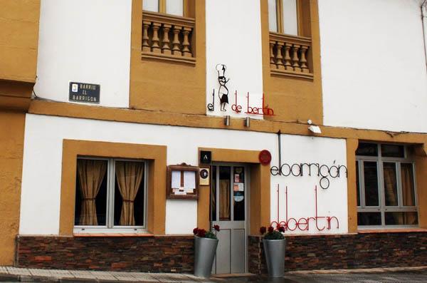 El barrigón de Bertín, en Lastres, Asturas