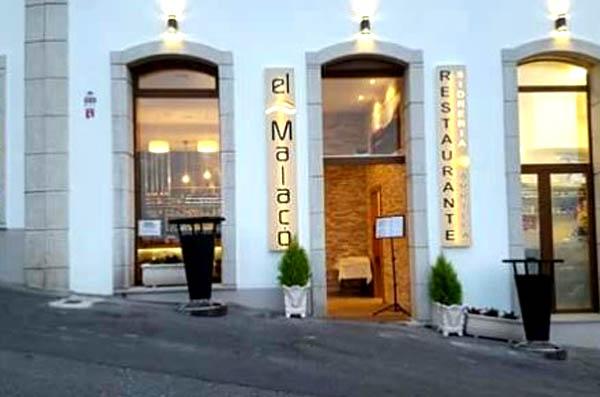 Restaurante El Malacó, en Lastres, Asturas