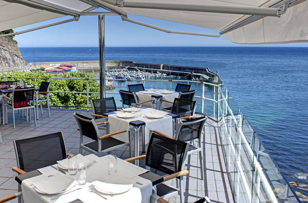 Restaurante Miramar Lastres, en Asturias