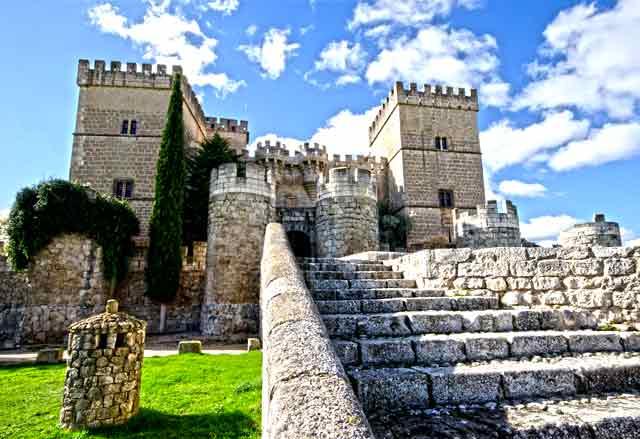 Castillo de Ampudia, en Palencia