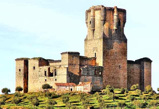 Castil,lo de Belalcázar, en Córdoba