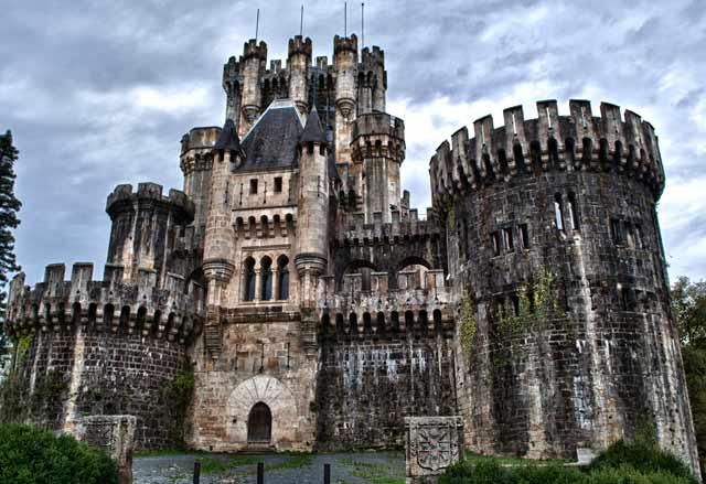 Castillo de Butrón, en Vizcaya