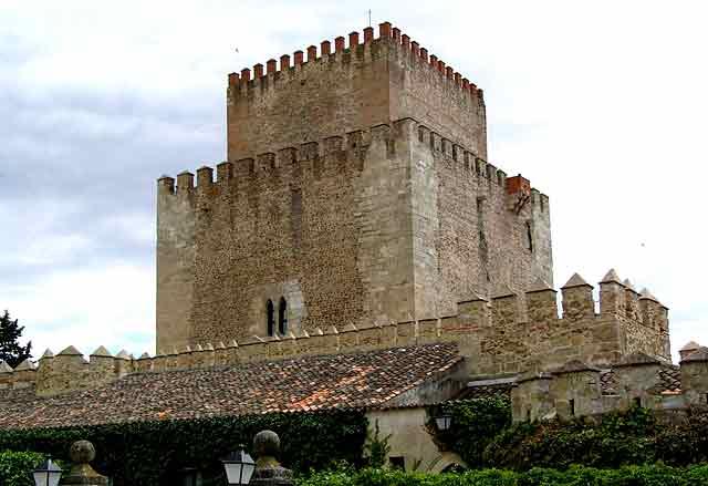 Castillo de Ciudad Rodrigo, en Salamanca