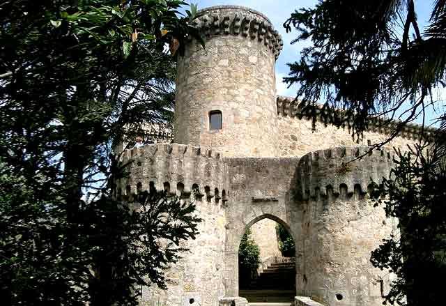 Castillo de Jarandilla de la Vera, en Cáceres