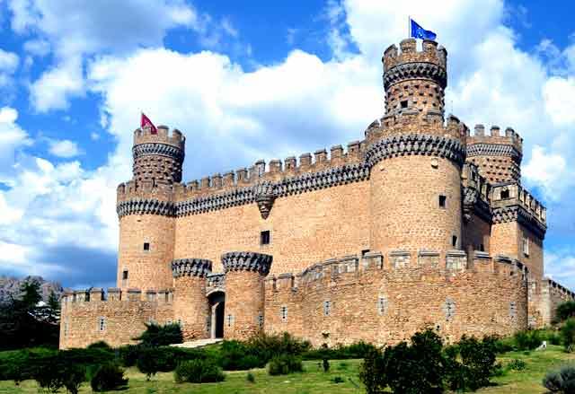 Castillo de los Mendoza, en Madrid
