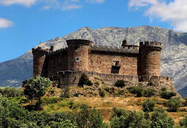 Castillo de Mombeltrán, en Ávila