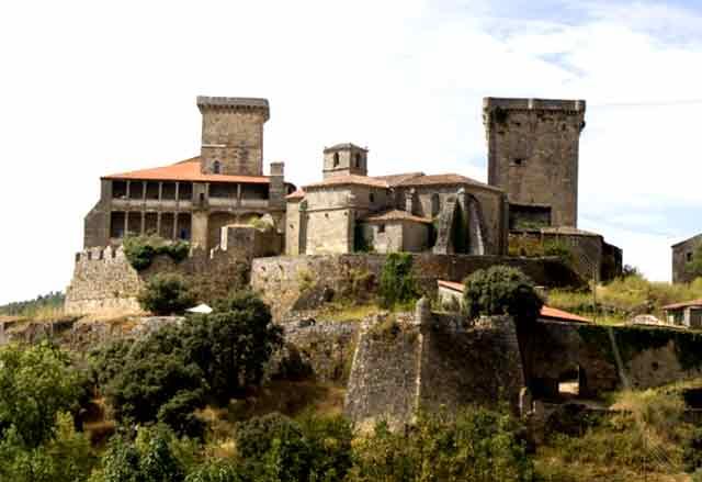 Castillo de Monterrei, en Ourense