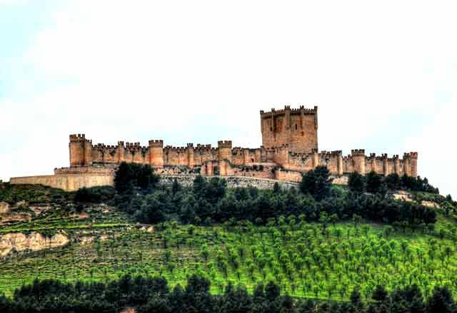 Castillo de Peñafiel, en Valladolid