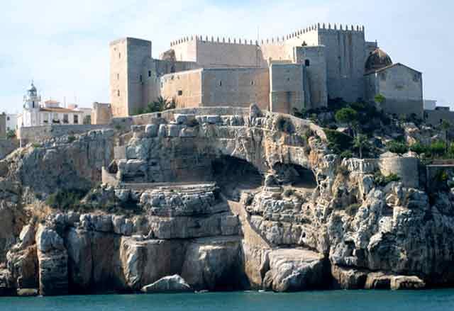 Castillo de Peñíscola, en Castellón