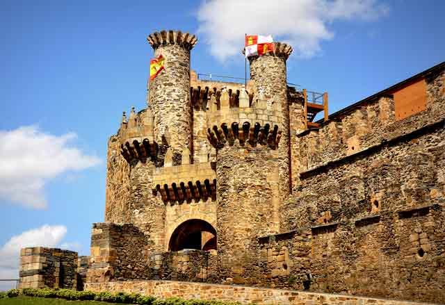Castillo de Ponferrada, en León