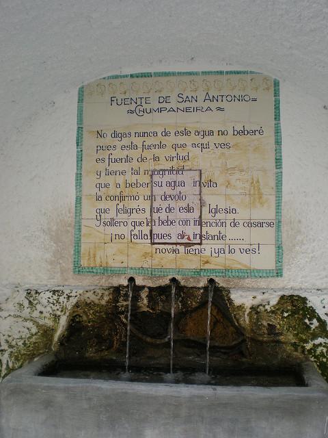 fuente chumpaneira