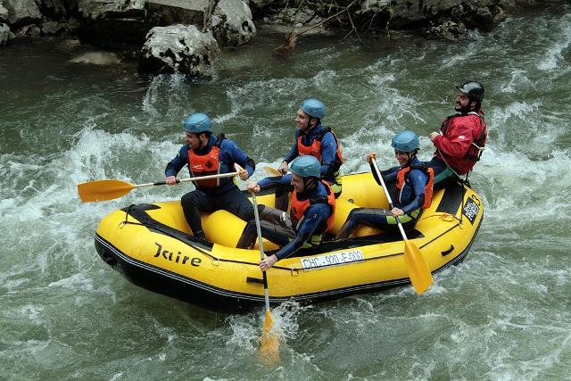 rafting rio sella