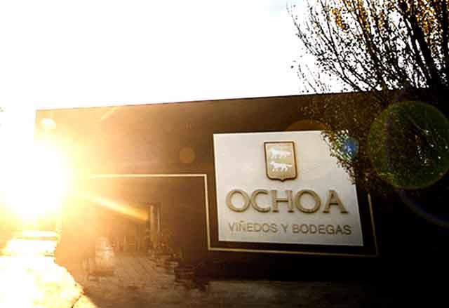 Bodegas Ochoa en Olite, Navarra
