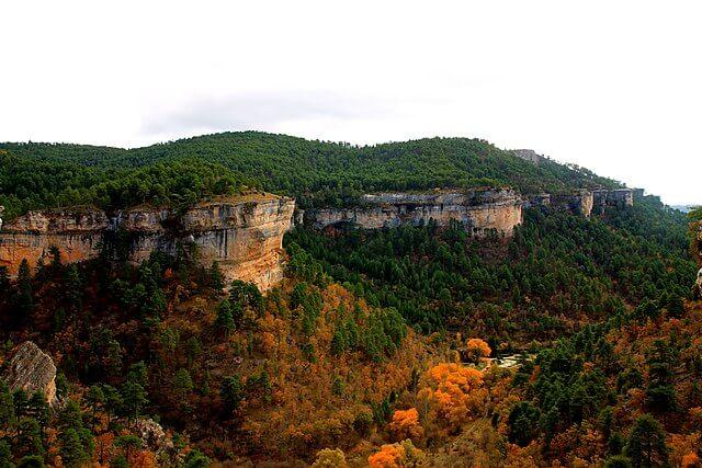 paisajes otoño serrania cuenca