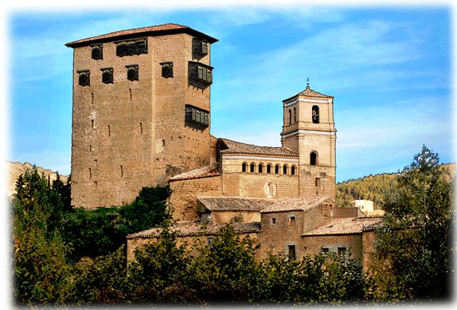 castillo aragon torre biel