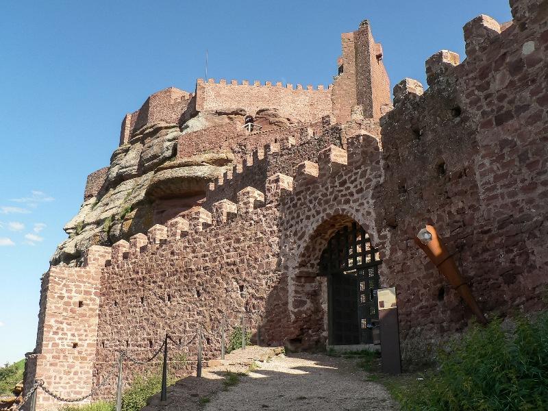 historia castillos aragon