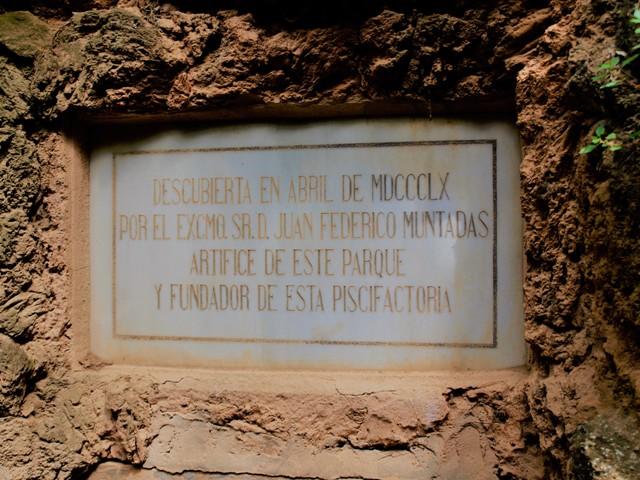 entrada gruta iris