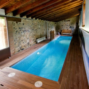 casa rural piscina climatizada