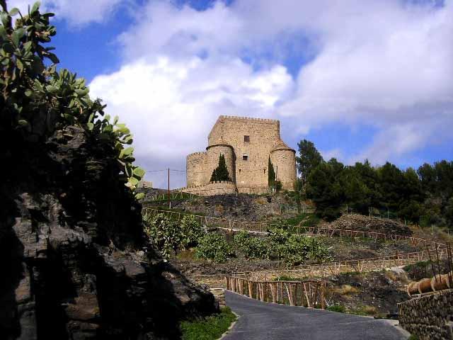 Castillo de Gergal, en Almería