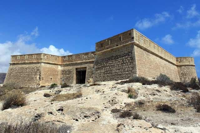 Castillo de San Felipe, en Almería