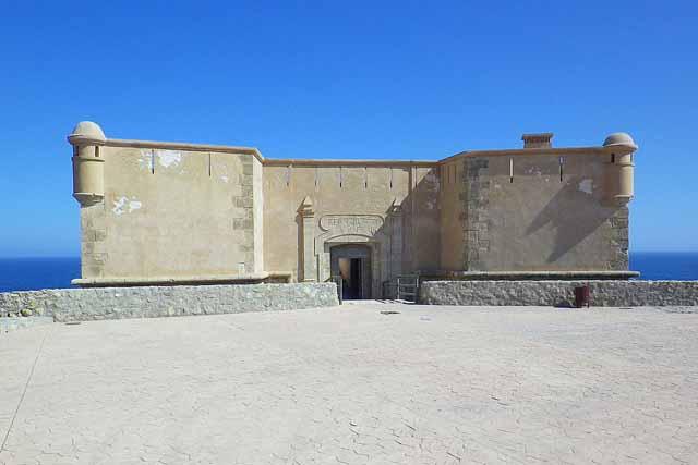 Castillo de San Juan de los Terreros, en la provincia de Almería
