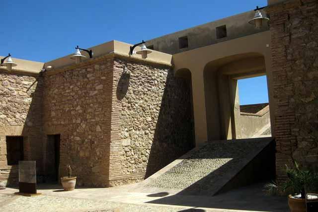 Castillo de San Ramón o de Escobetas, en Almería