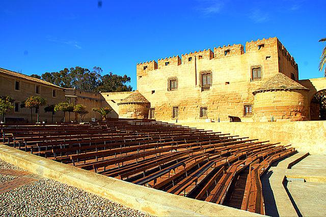 castillos almeria cueva almanzora
