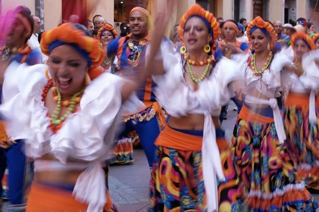 festival folklorico de los pirineos en jaca